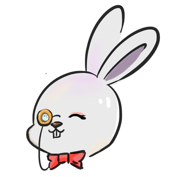 白兔先生头像